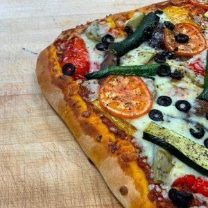 Pizza aux legumes